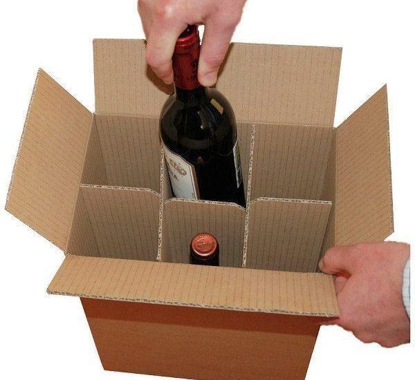 Thùng carton bảo quản rượu hiệu quả